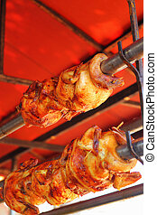 Chicken - rotation.