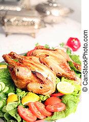 Chicken salad buffet