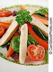 Chicken Salad Pesto 2