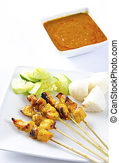 Chicken Satay malaysian food