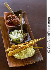 Chicken Satay - Delicious Asian Cuisine Chicken Satay Curry