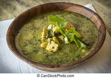 Chicken Soupe Au Pistou