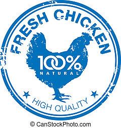 Chicken stamp
