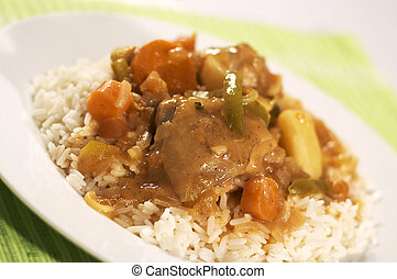 Chicken Stew with rice