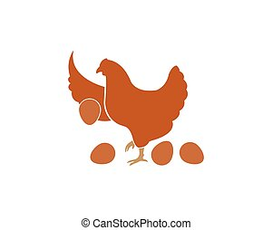 chicken vector illustration