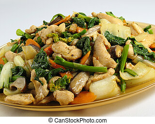 Chicken & Veggies StirFry