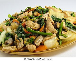 Chicken & Veggies StirFry