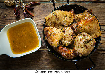 chicken with spices