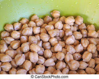 chickpeas legumes vegetables