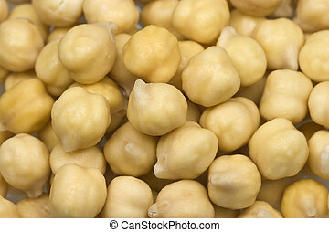 Chickpeas or garbanzo beans - Small handful of chickpeas or...