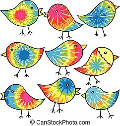 chicks, hippy