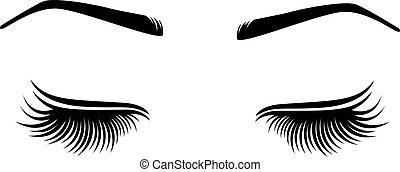 chicotadas, ilustração, brow., vetorial