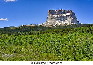 Chief Mountain, Glacier National Park, Montana