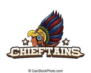 chieftains banner illustration design