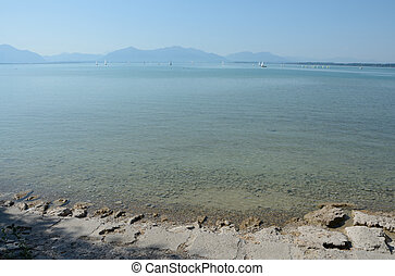 Chiemsee lake in Germany