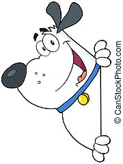 chien blanc, graisse