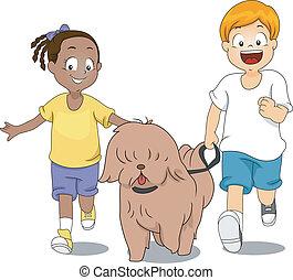 chien, exercice