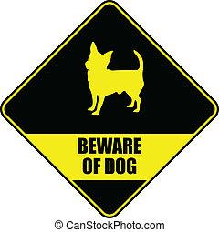 chien, prendre garde