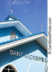 chiesa, andrew's, st., brunei