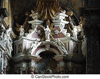 Chiesa degli Scalzi interior - Venice, Italy