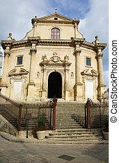 chiesa, del, purgatorio, ragusa, sicilië