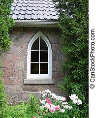 chiesa, finestra