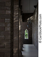 chiesa, interior.