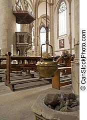 chiesa, interno