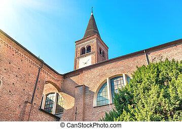 chiesa, marco, san, di, milan, campanile