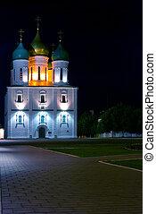 chiesa, notte