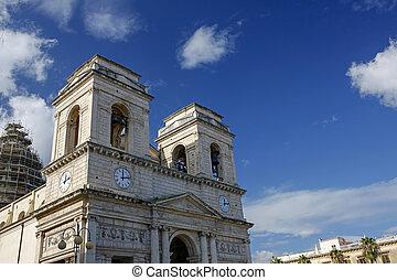 chiesa, s.isidoro, agricola, madre, sicilia, italia, giarre
