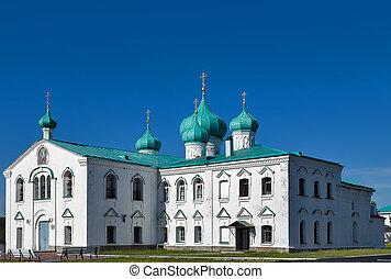chiese, di, il, transfiguration, st., alessandro, di, svir, monastero