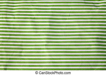 chiffonné, papier, vert, Raies