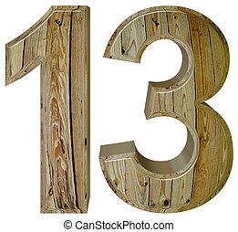Tredecim render romain xiii isol 13 treize fond for Chiffre treize