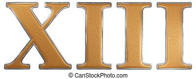 13 nombre or 3d clipart recherchez illustrations for Chiffre treize