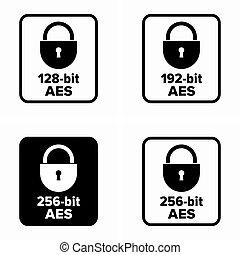 chiffrement, (aes), norme, avancé