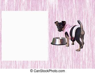 Chihuahua Puppy Pink 2
