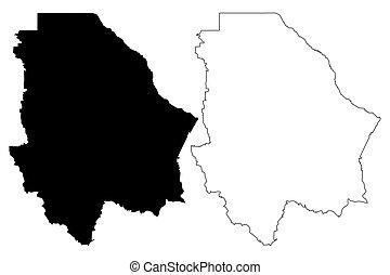 Chihuahua map