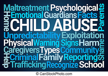 Child Abuse Word Cloud