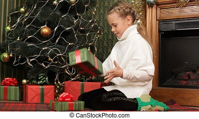 Child and gifts
