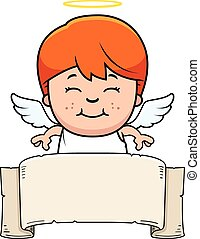 Child Angel Banner