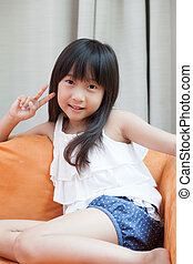 child asia girl.