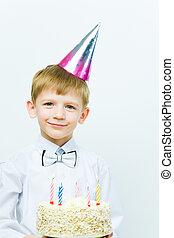 Child at birthday
