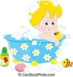 Child bathing