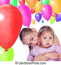 child birthday celebrating