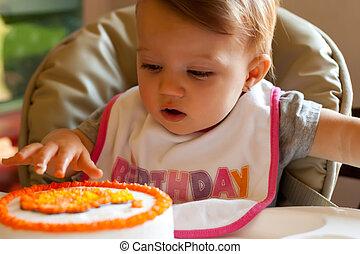Child Birthday First Touch