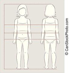 Child body measurements