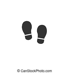 Child boots silhouette