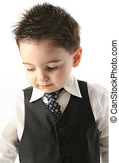 Child Boy Suit Tie