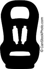Child car safety seat